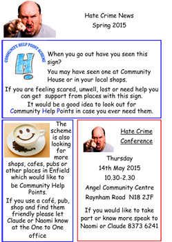 Newsletter Hate crime March 2015 (2)